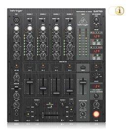 Behringer DJX750 Pro Mixer 5-Kanal DJ Mixer.