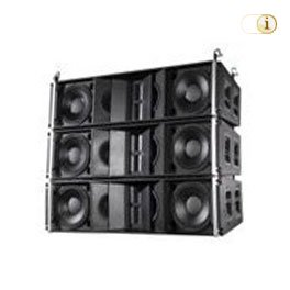AUDUE Professional 12 - 3-Way-Line-Array-Lautsprecher.