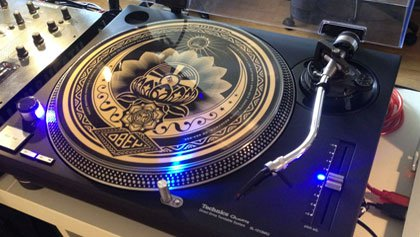 Technics Digital Drive Turntable System.