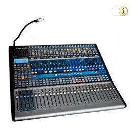 Mischpult, Live Mixer.