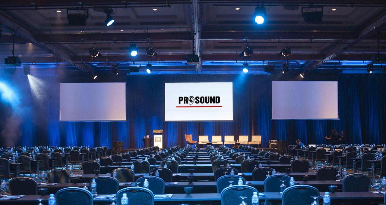 Tagungstechnik, Prosound, München.