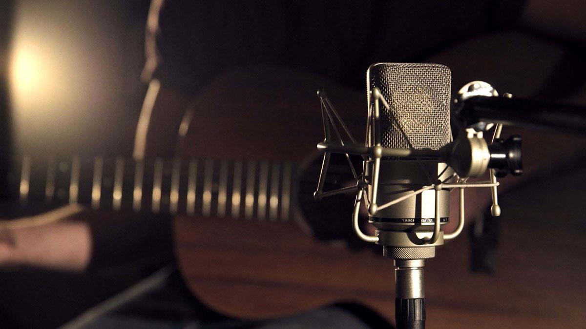 Kondensatormikrofon, Gitarre