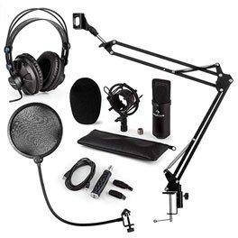 auna CM001B, Mikrofon-Set V4.
