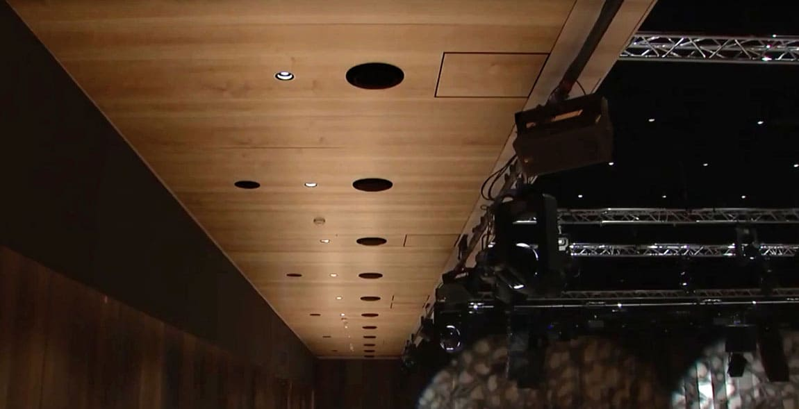 Audio-Installation, Konzertsaal.