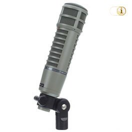 Electrovoice RE-20 Großmembran-Mikrofon.