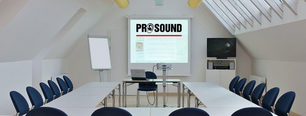 Konferenzraum-Technik.