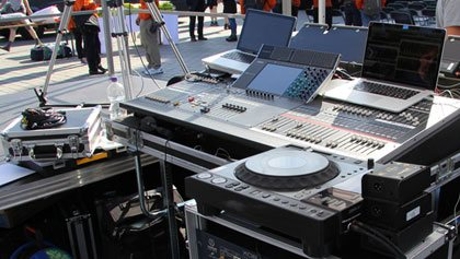 PA Equipment, DJ Equipment.