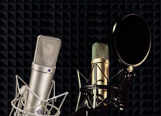 Tonstudio, Studiomikrofone, Prosound München.