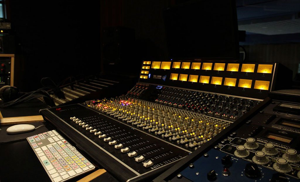 Mischpult, Prosound, Tonstudio, München.