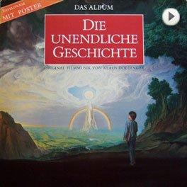 Die Unendliche Geschichte Soundtrack, Cover.
