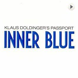 Klaus Doldinger Inner Blue, LP,Cover.