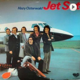 Hazy Osterwald -Jet Set, LP,Cover.