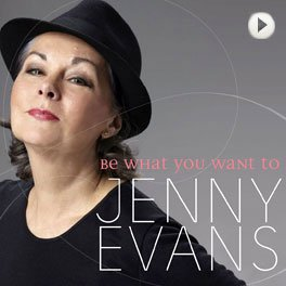 Jenny Evans - Be what you want to. LP,Cover.