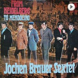 Jochen Brauer Sextett. LP,Cover.