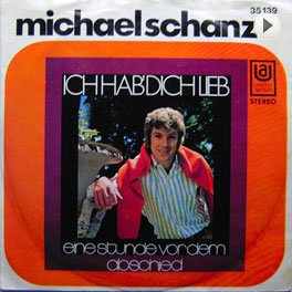 Michael Schanze, LP,Cover.