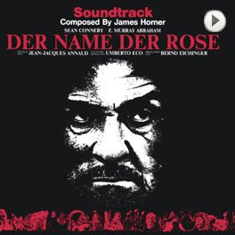 Der Name der Rose - Soundtrack. LP,Cover.