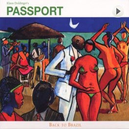 Passport – Back To Brazil LP,Cover.