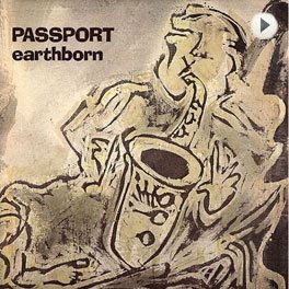 Passport – Earthborn LP,Cover.