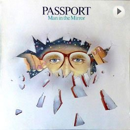 Passport - Man in the mirror, LP,Cover.