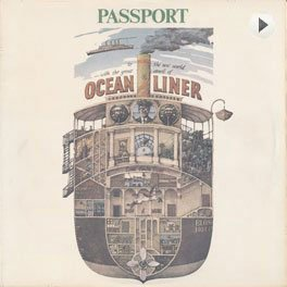 Passport - Oceanliner LP,Cover.