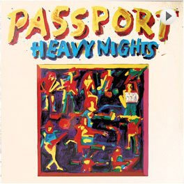 Passport – Heavy Nights LP,Cover.