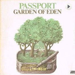 Passport - Garden Of Eden LP,Cover.