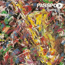 Passport - Running In Real Time LP,Cover.