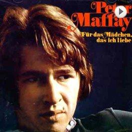 Peter Maffay - Für das Mädchen das ich liebe. LP,Cover.