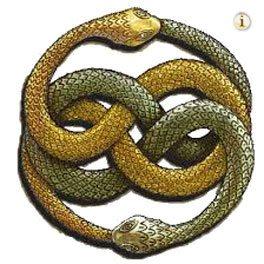 Die unendliche Geschichte, Schlangensymbol.